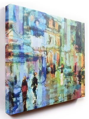 Gallery Canvas Wrap illustration